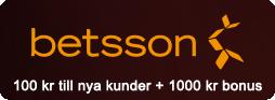 Betway - 100 kr vid registrering + en bonus upp till 10.000 kr!